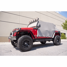( 1331809 ) Cab Cover, Gray, 07-18 Jeep 4-Door Wrangler by Rugged Ridge