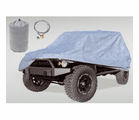 ( 1332173 ) Full Car Cover Kit, 04-17 Jeep LJ and JK Wrangler Unlimited by Rugged Ridge