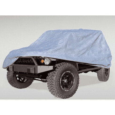 ( 1332180 ) Car Cover, 07-18 Jeep 2-Door Wrangler by Rugged Ridge