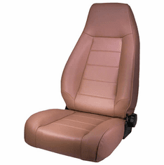 ( 1340237 ) High-Back Front Seat, Reclinable, Spice, 76-02 Jeep CJ and Wrangler by Rugged Ridge