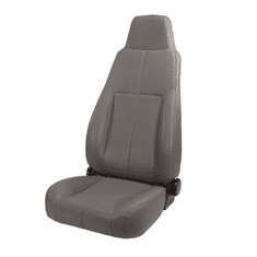 ( 1340309 ) High-Back Front Seat, Late Model Headrest, 76-02 Jeep CJ and Wrangler by Rugged Ridge