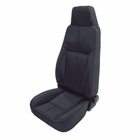 ( 1340315 ) High-Back Front Seat, Late Model Headrest, 76-02 Jeep CJ and Wrangler by Rugged Ridge