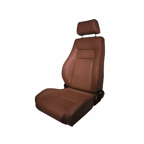 ( 1340437 ) Ultra Front Seat, Reclinable, Spice, 76-02 Jeep CJ and Wrangler by Rugged Ridge