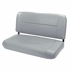 ( 1346109 ) Standard Replacement Rear Seat, Gray, 55-95 Jeep CJ and Wrangler by Rugged Ridge