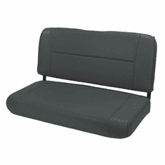 ( 1346115 ) Standard Replacement Rear Seat, Black, 55-95 Jeep CJ and Wrangler by Rugged Ridge