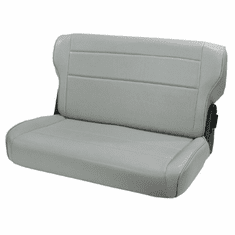 ( 1346209 ) Fold and Tumble Rear Seat, Gray, 76-95 Jeep CJ and Wrangler by Rugged Ridge