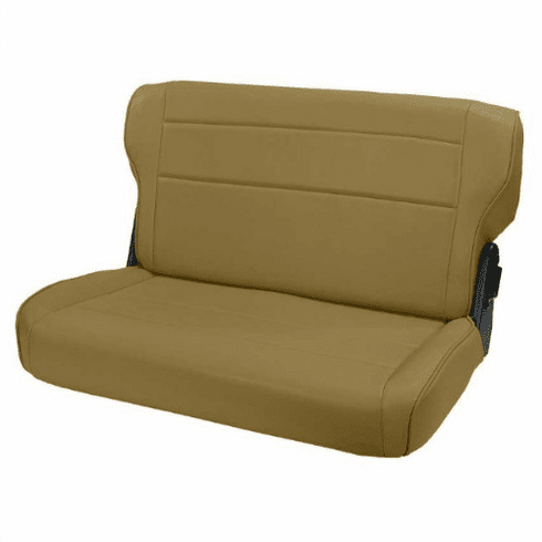 ( 1346237 ) Fold and Tumble Rear Seat, Spice, 76-95 Jeep CJ and Wrangler by Rugged Ridge