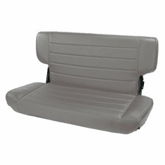 ( 1346309 ) Fold and Tumble Rear Seat, Gray, 97-02 Jeep Wrangler by Rugged Ridge