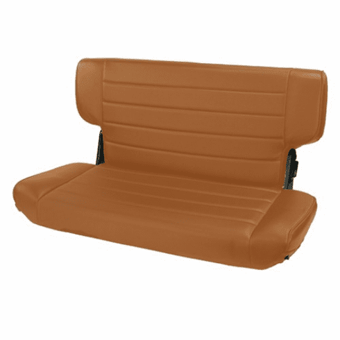 ( 1346337 ) Fold and Tumble Rear Seat, Spice, 97-02 Jeep Wrangler by Rugged Ridge