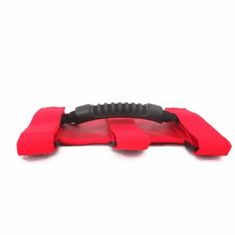 ( 1350503 ) Ultimate Grab Handles, Red, 55-18 Jeep CJ and Wrangler by Rugged Ridge