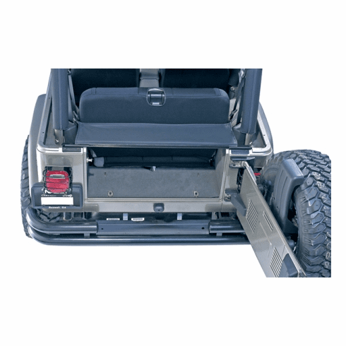 ( 1355001 ) Tonneau and Replacement Tailgate Bar, 87-06 Jeep Wrangler by Rugged Ridge