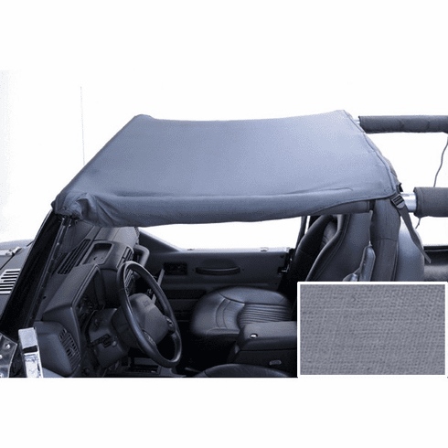 ( 1357309 ) Summer Brief Top, 87-91 Jeep Wrangler, Gray by Rugged Ridge