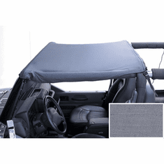 ( 1357409 ) Summer Brief Top, Gray, 92-95 Jeep Wrangler by Rugged Ridge