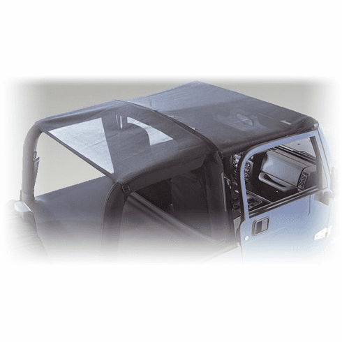 ( 1357903 ) Mesh Roll Bar Top, 07-18 Jeep Wrangler Unlimited by Rugged Ridge