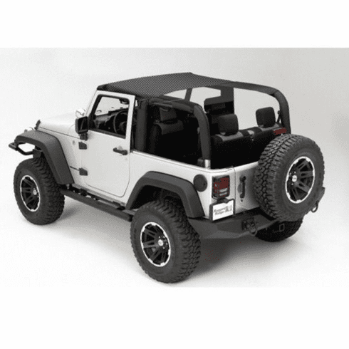 ( 1358835 ) Island Topper, Black Diamond, 07-09 Jeep Wrangler by Rugged Ridge