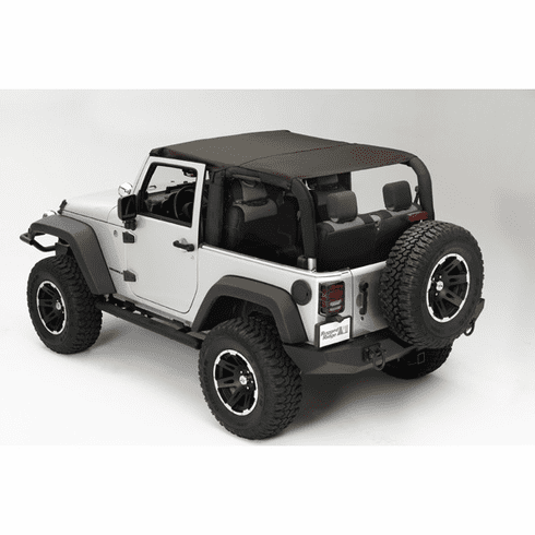 ( 1358836 ) Island Topper, Khaki Diamond, 07-09 Jeep Wrangler by Rugged Ridge