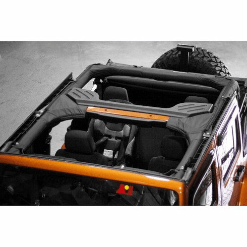 ( 1361305 ) Roll Bar Cover, Vinyl, 07-14 Jeep Wrangler Unlimited by Rugged Ridge