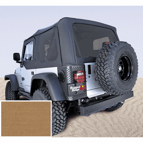 ( 1372437 ) XHD Soft Top, Spice, Tinted Windows, 97-06 Jeep Wrangler by Rugged Ridge