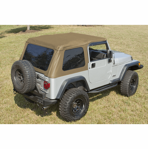 ( 1375037 ) Bowless XHD Soft Top, Spice, 97-06 Jeep Wrangler by Rugged Ridge