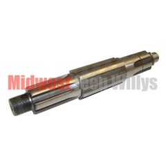 """14) Transmission Mainshaft Fits 1946-71 Jeep & Willys with T-90 Transmission, Measures 10-1/4"""" in length"""