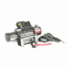 ( 1510005 ) Nautic Winch, 9500 LBS with Steel Cable, Waterproof