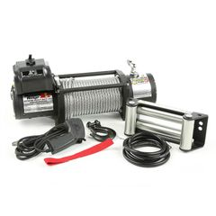 ( 1510020 ) Spartacus Heavy Duty Winch with Steel Cable, 12500 lbs