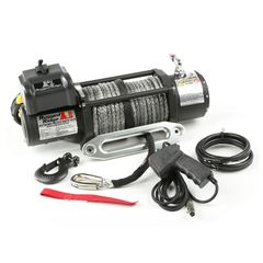 ( 1510041 ) Spartacus Performance Winch with Synthetic Rope, 10,500 lbs