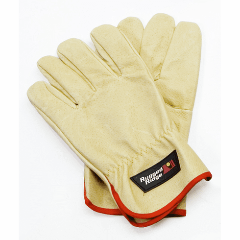 ( 1510441 ) Recovery Gloves, Leather by Rugged Ridge