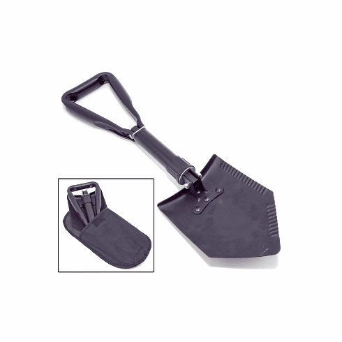 ( 1510442 ) Heavy Duty Tri-Fold Recovery Shovel, Multi-use for Offroad by Rugged Ridge