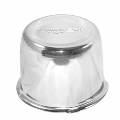 ( 1520154 ) Center Cap, Chrome, Rugged Ridge, Steel Wheel by Rugged Ridge