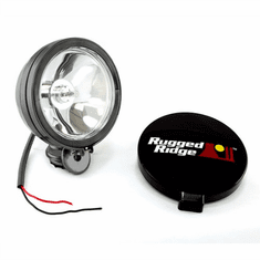 ( 1520701 ) 6-Inch Halogen Light, Black Steel Housing by Rugged Ridge
