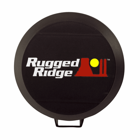 ( 1521050 ) 6-Inch HID Off Road Light Cover, Black by Rugged Ridge