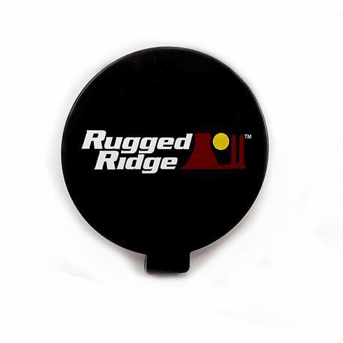 ( 1521053 ) 6-Inch Off Road Light Cover, Black by Rugged Ridge