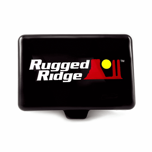 ( 1521055 ) 5-Inch x 7-Inch Rectangular Off Road Light Cover, Black by Rugged Ridge