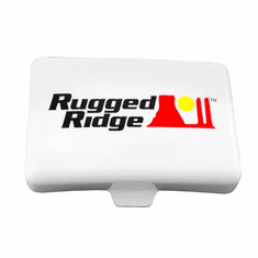 ( 1521056 ) 5-Inch x 7-Inch Rectangular Off Road Light Cover, White by Rugged Ridge