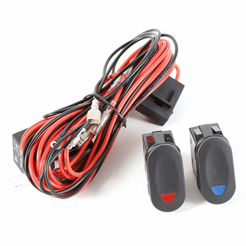 ( 1521072 ) Light Wiring Harness Kit for 2 Lights by Rugged Ridge