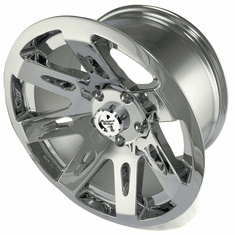 ( 1530120 ) XHD Aluminum Wheel, Chrome, 17 inch X 9 inches by Rugged Ridge