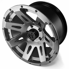 ( 1530130 ) XHD Aluminum Wheel, Gun Metal, 17 inch X 9 inches by Rugged Ridge