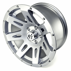 ( 1530140 ) XHD Aluminum Wheel, Silver, 17 inch X 9 inches by Rugged Ridge