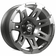 ( 1530530 ) XHD Wheel, Gun Metal, 18x9 fits 07-18 Jeep Wranglers by Rugged Ridge