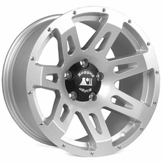 ( 1530540 ) Aluminum Wheel, Silver, 18x9, 07-18 Jeep Wrangler  by Rugged Ridge