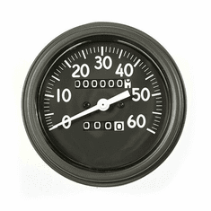 ( 1720602 ) Speedometer Assembly, Long Style Needle, 0-60 MPH Fits 1941-43 Willys MB, Ford GPW by Omix-Ada