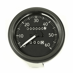 ( 1720603 ) Speedometer Assembly, Short Style Needle, 0-60 MPH Fits 1944-45 Willys MB, Ford GPW by Omix-Ada