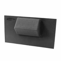 ( 1723555 ) Lower Console Switch Panel, 07-10 Jeep Wrangler by Rugged Ridge