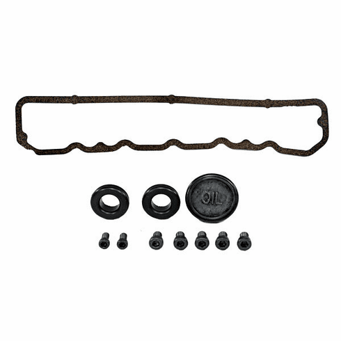 ( 1740201 ) Valve Cover Gasket Kit for Aluminum Aftermarket Valve Covers, 4.2L Engine, 1981-86 Jeep CJ, 1987 Wrangler YJ by Omix-Ada