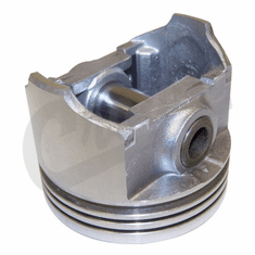 """( 1742722 )  Piston With Pin .020"""" O.S. Fits 1979-90 CJ/Wrangler W/ 4.2L 6 Cylinder by Preferred Vendor"""
