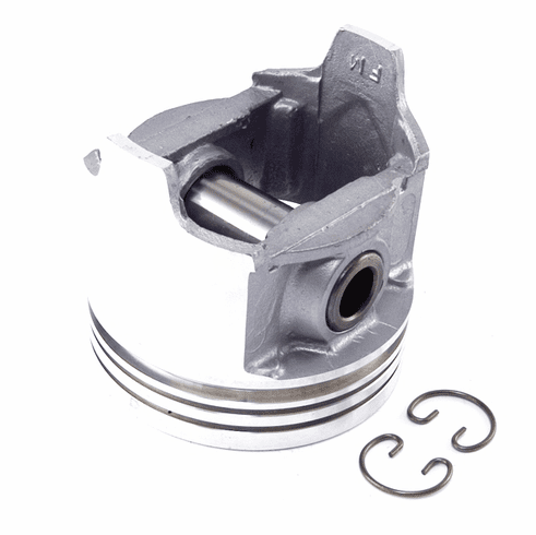 """( 1742729 )  Piston With Pin .030"""" O.S. Fits 1979-90 CJ/Wrangler W/ 4.2L 6 Cylinder by Preferred Vendor"""