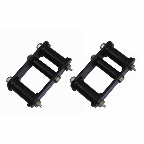 ( 1826515 ) HD Front Leaf Spring Shackles, 87-95 Jeep Wrangler by Rugged Ridge