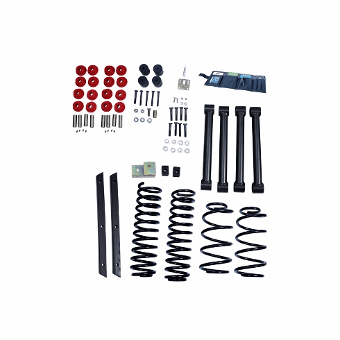 ( 1840131 ) 2-Inch Lift Kit without Shocks, 03-06 Jeep Wrangler TJ by ORV Rugged Ridge