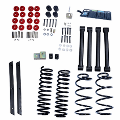 ( 1840132 ) 2-Inch Lift Kit without Shocks, 04-06 Jeep Wrangler Unlimited LJ by ORV Rugged Ridge
